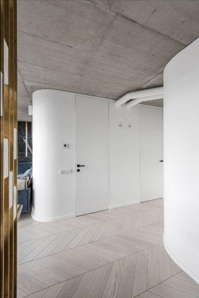 Wandbündige Türen von ECLISSE als perfekte Ergänzung